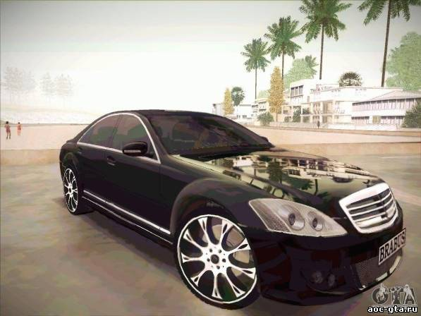 Mercedes-Benz S 500 Brabus Tuning