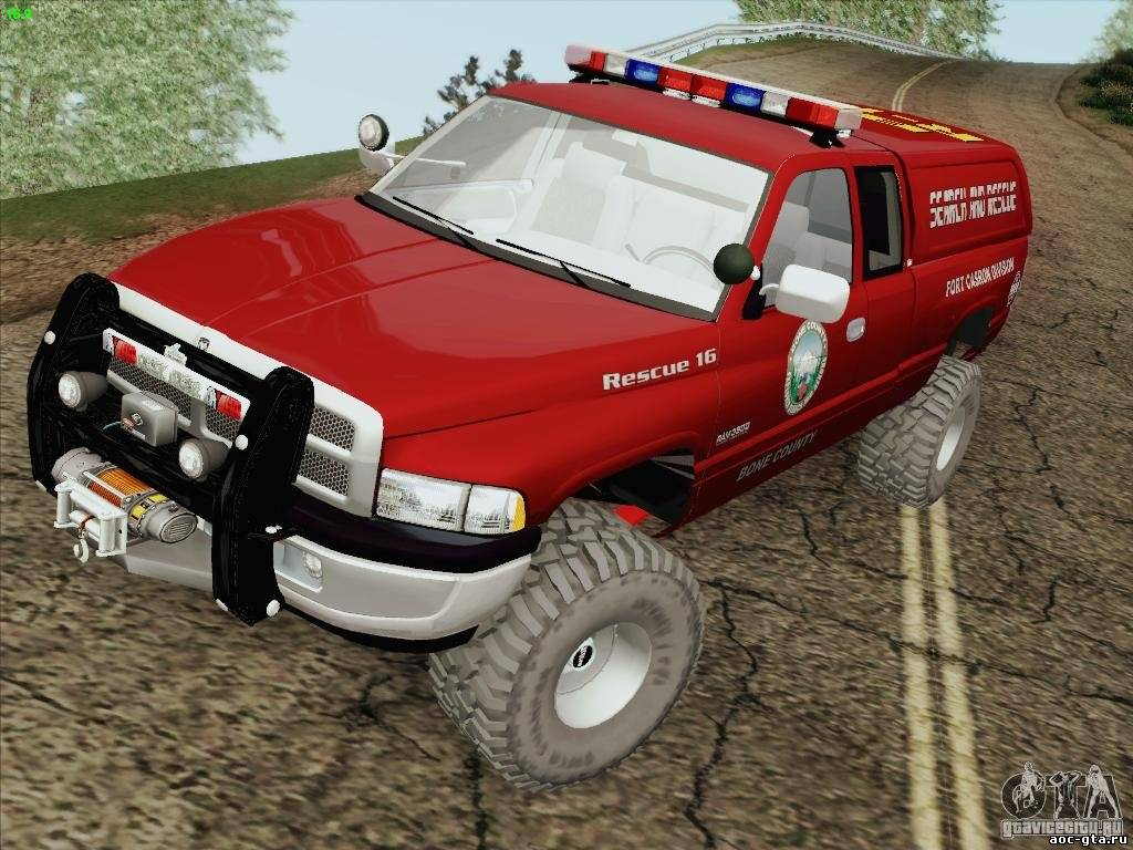 Dodge Ram 3500 Search & Resque